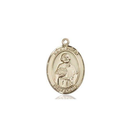 14 ktゴールドSt Philip Neri medal B008JL28XE