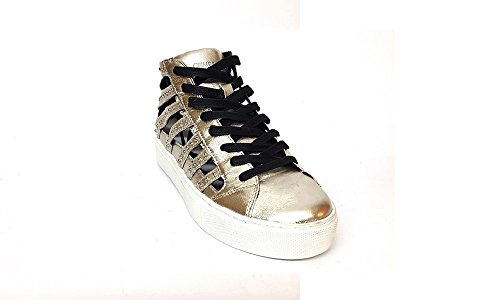 CRIME sneakers donna 25352, Argento, EUR 36