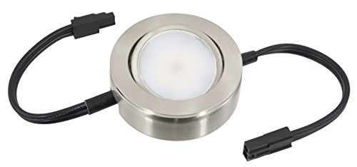 American Lighting MVP-1-NK-B Dimmable LED MVP Puck Light with 6