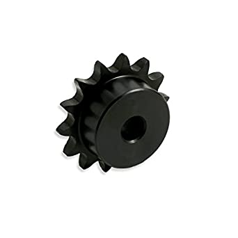 """35B17H-3//4/""""  Bore Type B Finish Sprocket for #35 Roller Chain 17 Tooth"""