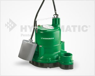 Hydromatic SW50A1 Submersible Sump/Effluent Pump, 10' Power Cord (Automatic)