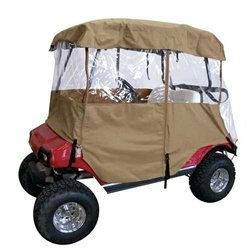 DELUXE 4 SIDED GOLF CART ENCLOSURE (4 Sided Deluxe Golf Cart)