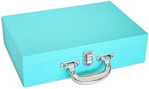 3058b36cd49 Porta-Joias Grande Duplo (Tiffany Blue)  Amazon.com.br  Casa