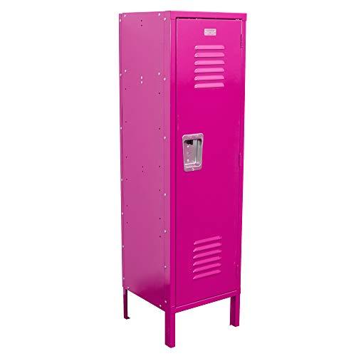 Kids Locker 15W x 15D x 54H Unassembled in 8 Amazing Colors (Pink)