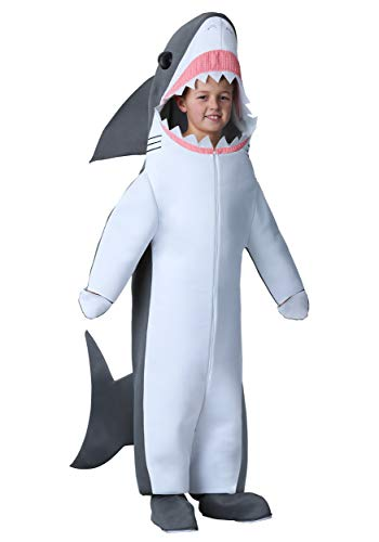 Childs Great White Shark Costume Medium