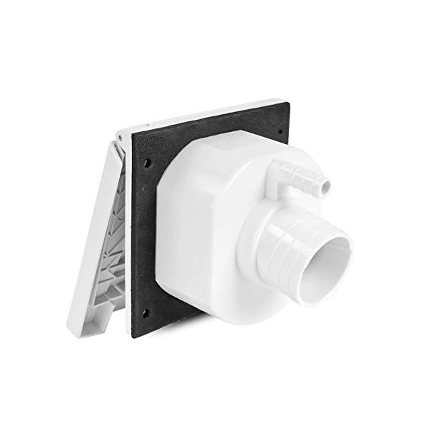 31y8KCivypL Wasseranschlussdose   abschließbar   weiß   inkl Dichtung & Schrauben   40mm
