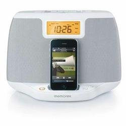 Memorex Dual Alarm Audio System for iPhone/iPod