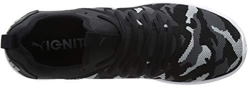 Flash quarry Ignite Chaussures iron 02 Noir puma Gate Puma Black De Camo Homme Running 4SqZ5