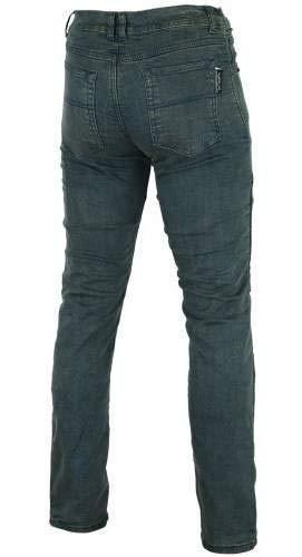 Pantalones vaqueros el/ásticos con forro de kevlar para motocicleta con armadura CE extra/íble vaquero vintage talla 14 Bikers Gear Australia Limited