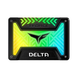 TEAMGROUP T-Force Delta RGB 500GB 2.5 SATA III 3D NAND Internal Solid State Drive (SSD) - White