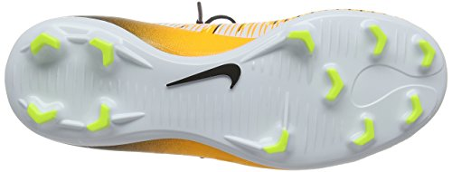 Nike Unisex-Kinder Mercurial Victory Vi Dynamic Fit (Fg) Fußballschuhe Orange (Laser Orange/black-white-volt)