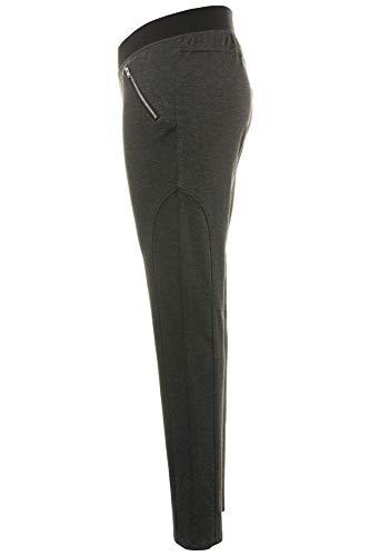 Yoga Grandes Chiné Femme Tailles Anthracite Popken Inspiration De Ulla 712313 Sport Legging qg8F6