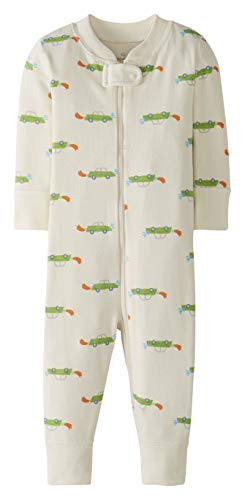 Moon and Back by Hanna Andersson One Piece Footless Pajamas Infant-And-Toddler-Sleepers Unisex - Bimbi 0-24 1