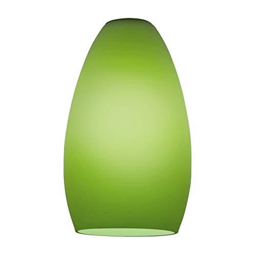Access Lighting 23112-LGR Champagne Shade, Light Green Glass Finish
