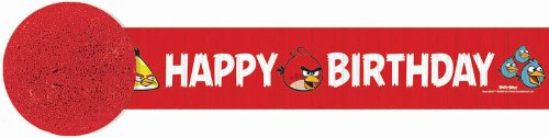 Angry Birds Crepe Paper Streamer (30ft) ()