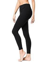 Yoga Pants Yoga Capris Leggings Workout Running Sports Tummy Control Shapewear Black