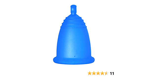MeLuna Classic Copa Menstrual, Bola, Azul, Talla M - 1 Unidad ...