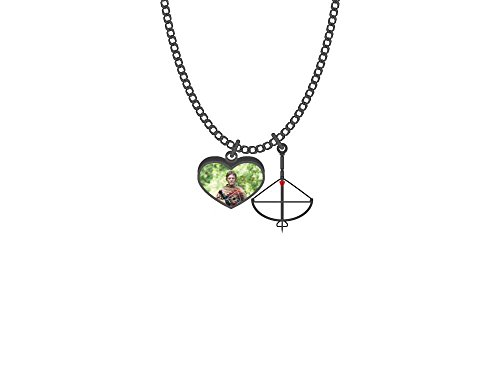 Walking Dead Daryl Dixon Antique Charm Necklace]()
