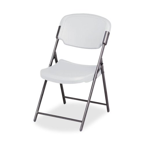Wholesale CASE of 5 - Iceberg Rough-N-Ready Folding Chairs-Folding Chair, Steel Frame, 18-3/4