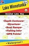 Fishing Hot Spots Map of Lake Minnetonka