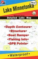 Fishing Hot Spots Map of Lake Minnetonka
