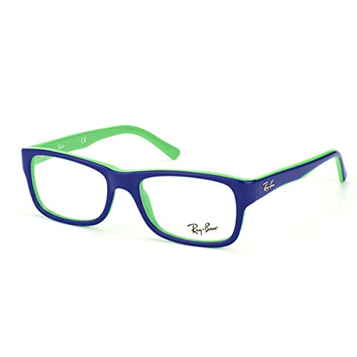 Ray Ban RX5268 Eyeglasses-5182 Top Blue On Green-50mm