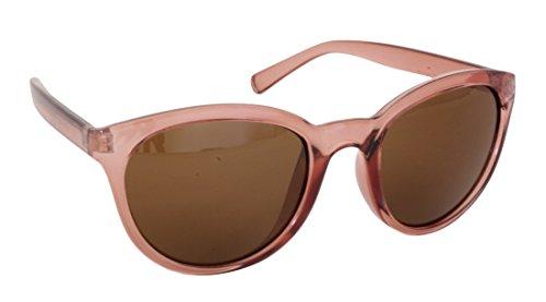 plein Protection UV400 plastique cadre femmes Foster lentilles et CAT de soleil bras lunettes UV 100 2 UV STU14336 FG112 rondes clair cadre Grant en rose UOz1qO8