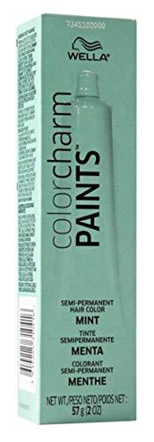 Wella Color Charm Paints Tube Mint 2 Ounce (59ml) (2 Pack)