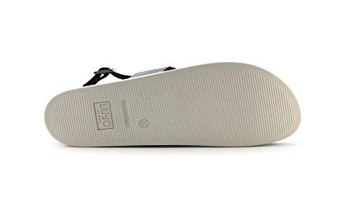 FOOTBED femme la plates NAO NOIR S17071 LIU SANDALO sandales T9245 de Black JO zAxqwgO