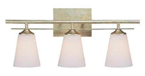 Winter Gold Soho 3 Light Bathroom Vanity Fixture ()