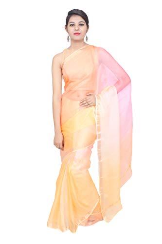 Taluka Fashions Pure Kota Silk Shaded Traditional Royal Rajputi Saree(Q40-425-1_Yellow)