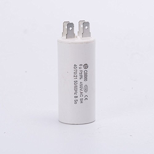 Anycell Running Capacitor 4 pins Motor Start Capacitor For Electric Machine CBB60 250V/450V 6uF Capacitor For Water Pump QB-60