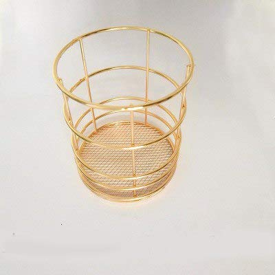 S World 4home Nordic Simple Rose Gold Basket Craft Ornament