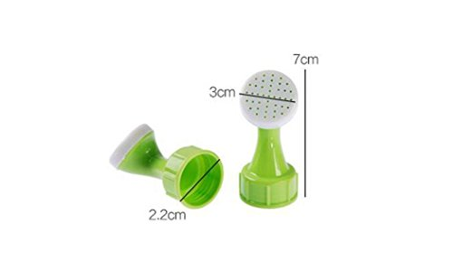 LiPing 2PCS Spray Bottle Top Watering Garden Plant Sprinkler Water Seed Seedlings Irrigation Self Plant Watering for Spike Base (A) by LiPing (Image #4)
