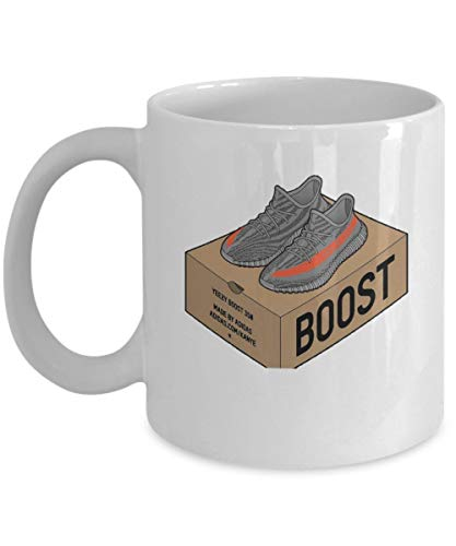 Yeezy Boost 350 Coffee Mug Cup (White) 11oz Funny Kanye for sale  Delivered anywhere in Canada