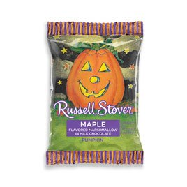 Russell Stover Milk Chocolate Maple Marshmallow Pumpkin, 1 Ounce, 36 Count by Russell Stover