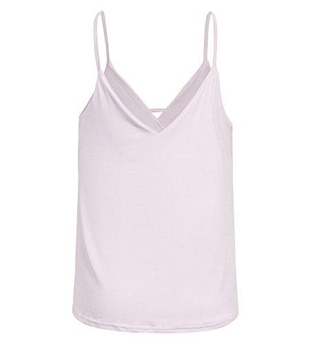 Beauty7 Chalecos Mujer Tirantes Off Hombro Cuello Bajo Camisetas Mujer Verano Hot T Shirt Camisas Blusas Tops Tee Parte Superior Casual Ropas Ocasionales: ...