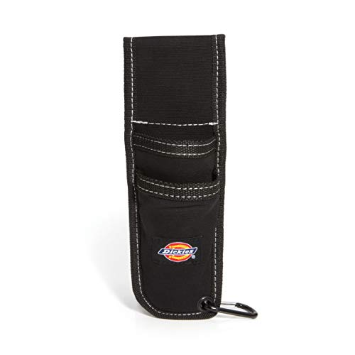 Dickies Work Gear 57064 Black Utility Knife Sheath with Cut-Preventive Sheath Lining ()