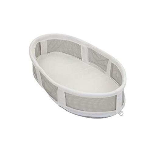 QAQ Cama De Viaje para Bebé Cesta De Dormir De Algodón Plegable Portátil Extraíble Lavado,A,82 * 47 * 18cm