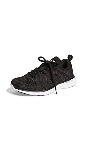 APL: Athletic Propulsion Labs Women's Techloom Pro Sneakers, Black/White/Black, 8 M US