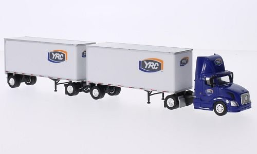 Volvo VNL day Cab, YRC Freight, 0, Model Car, Ready-made