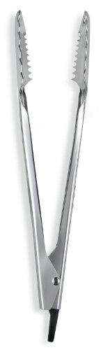 iSi Basics 12-Inch Pro Tongs, Polished Stainless Steel by iSi North America (Image #1)