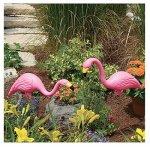Bloem T6197 Flamingo Planter, Pink, 2-Pack For Sale