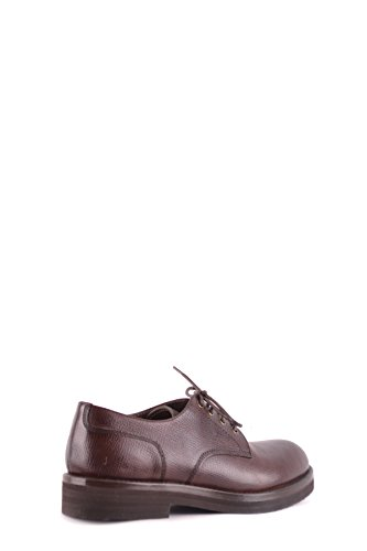 Brunello Cucinelli Men Mcbi053064o Scarpe Stringate In Pelle Marrone