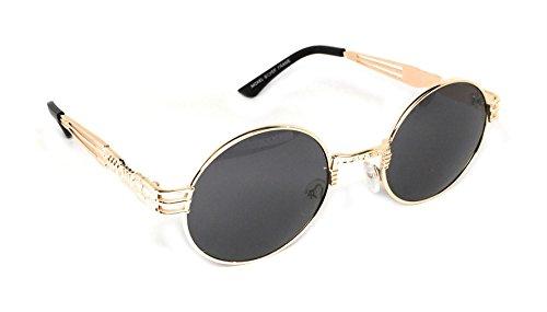 WebDeals - Round Metal Steampunk Sunglasses 3