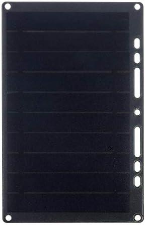Generator 6V 1.7A 10W USB-Sonnenkollektor Solarstrom-Ladegerät W/Ringbuch Eyelet