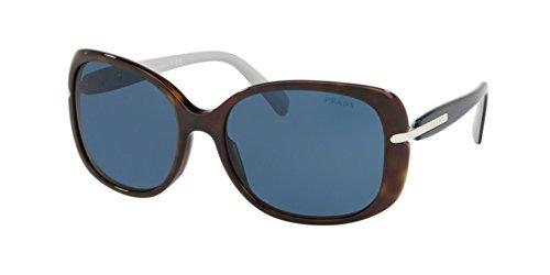 Prada PR08OS 2AU1V1 Havana PR08OS Square Sunglasses Lens Category 3 Size 57mm