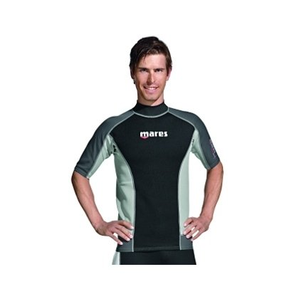 Mares Men's Thermo Guard 0.5mm Short Sleeve Water Sport Shirt, X-Large