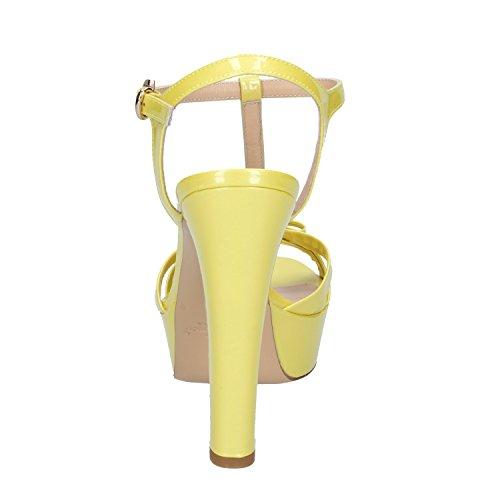 Miamor MI Amor Damen Sandalen Gelb Gelb