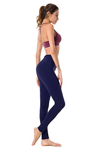Queenie Ke Damen Sport Yoga Gestreckt Legging Hose Leggings Size XL Color Blau#2
